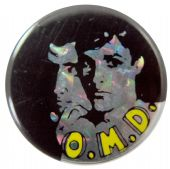 OMD - 'Group' Prismatic Button Badge
